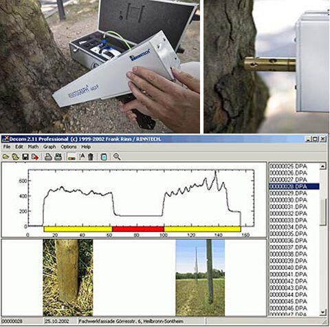 RESISTOGRAPH R650-PR树木针测仪