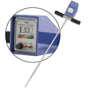 EC-350便携式土壤水分温度电导率速测仪