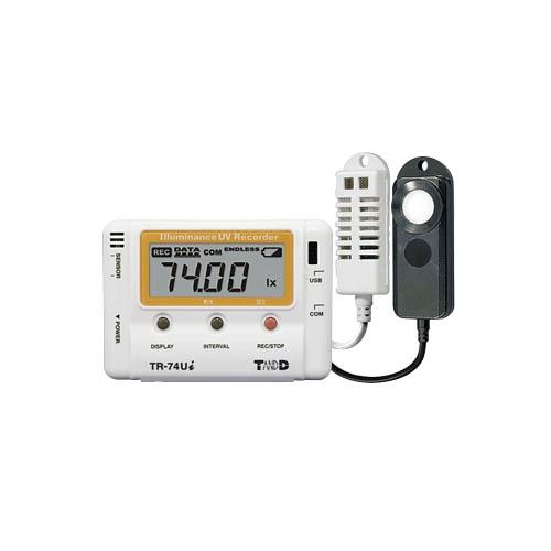 TR-74Ui紫外/照度/温度/湿度记录仪