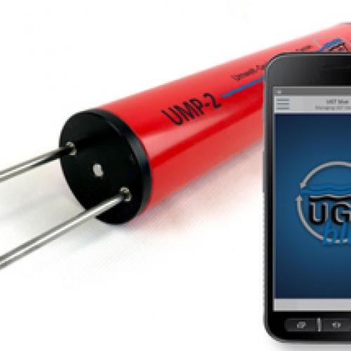 UMP-2蓝牙土壤水分、温度、电导率仪
